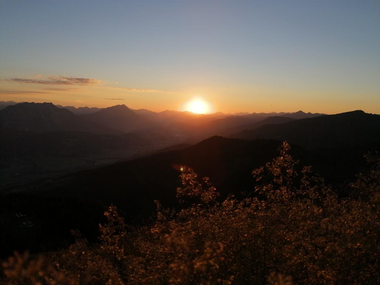 Sonnenaufgangsfrühstück am Hauser Kaibling