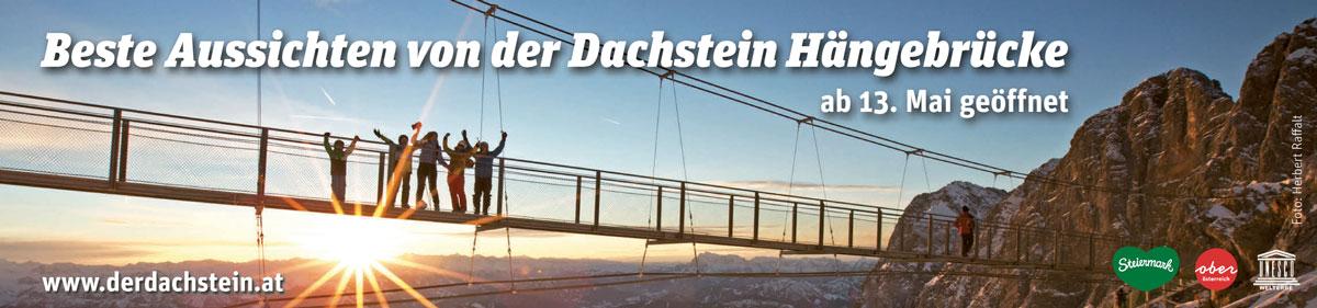 Der Dachstein – Beste Aussichten von der Dachstein Hängebrücke