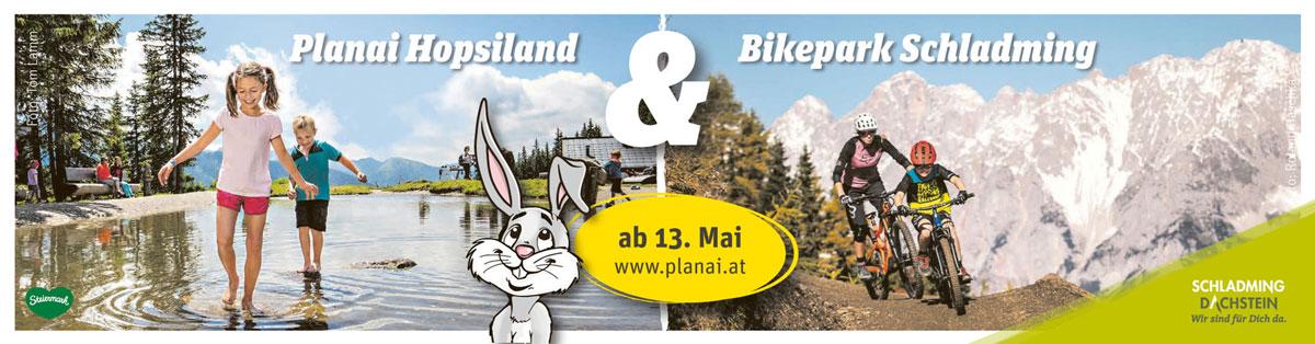 Planai Hopsiland & Bikepark Schladming ab 13. Mai 2021