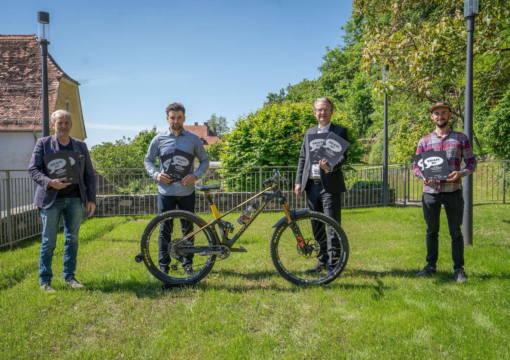 Steirische Mountainbike-Mappe in Graz präsentiert