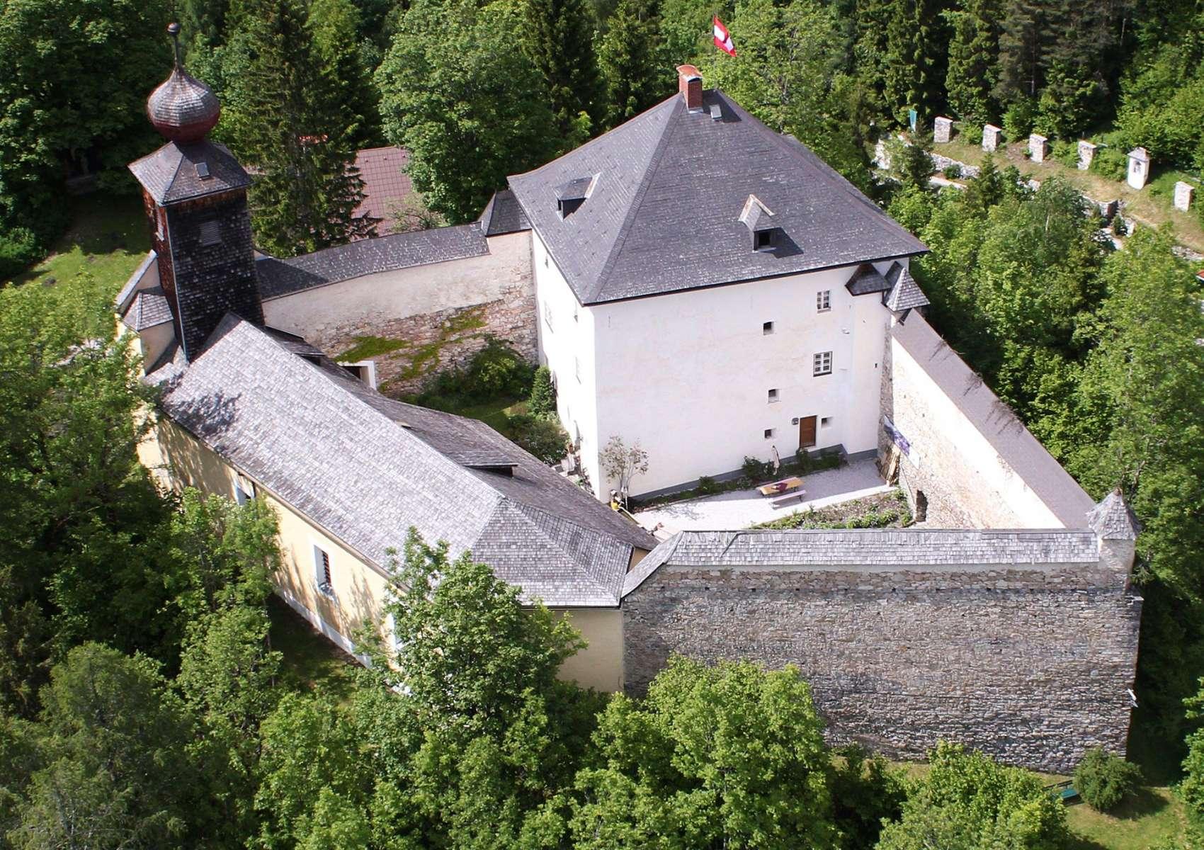 Neue Ausstellung im Schloss Großsölk